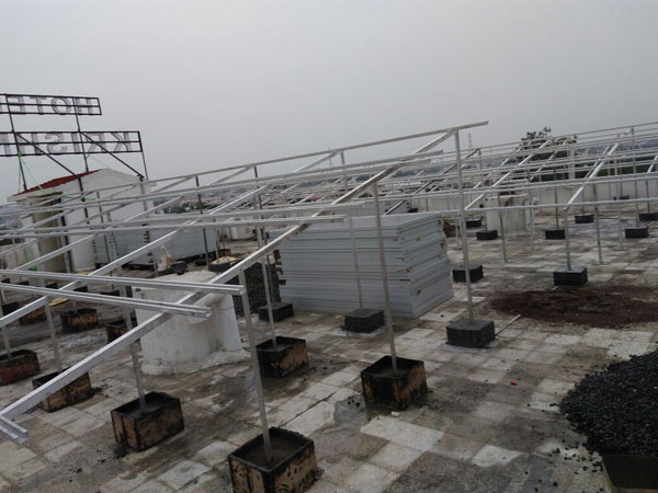 Solar Roof Top Structure Ahmedabad