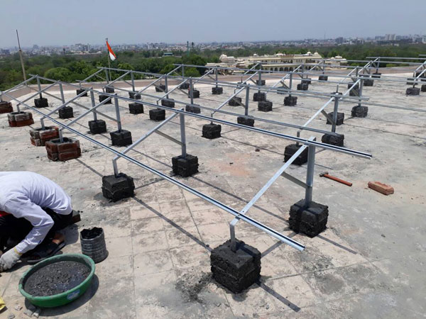 Solar Roof Top Structure India