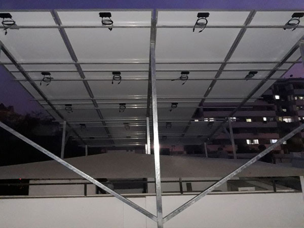 Solar Roof Top Structure Manufacturer