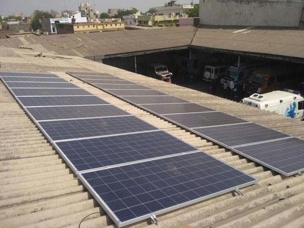 solar ground mount structure India