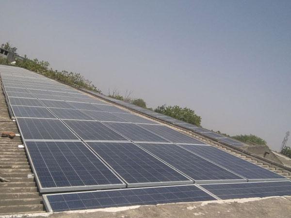 Solar earthing patta
