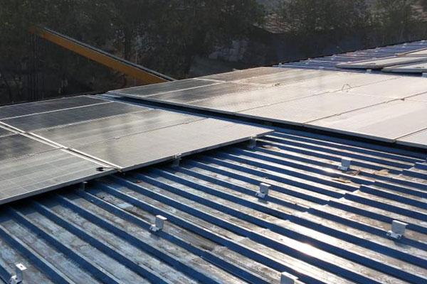 solar ground mount structure