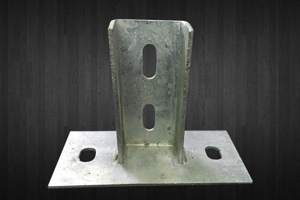 Base plate ( hotdeep / galvanise )