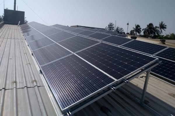 solar panel self-tapping screw