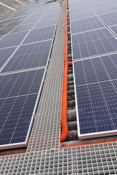 FRP Solar Walkways Grating
